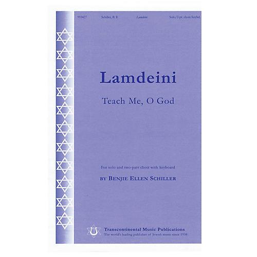 Transcontinental Music Lamdeini (Teach Me, O God) 2-Part composed by Benjie-Ellen Schiller-thumbnail