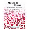 Peer Music Lamentation and Satire (String Quartet) Peermusic Classical Series Composed by Mohammed Fairouz-thumbnail