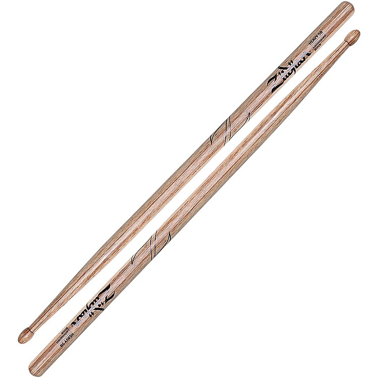 Zildjian Laminated Birch Heavy Drumsticks 5B Wood Tip