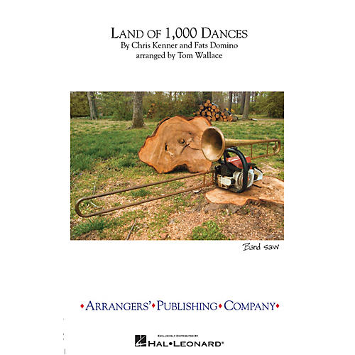 Arrangers Land of 1,000 Dances Marching Band Level 3 Arranged by Tom Wallace-thumbnail