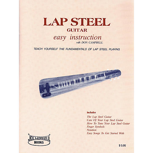 Morrell Music Lap Steel Guitar Instruction Book-thumbnail