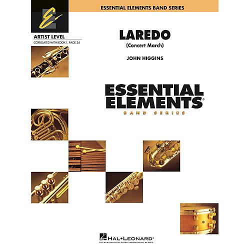 Hal Leonard Laredo (Concert March) Concert Band Level 1 Composed by John Higgins-thumbnail