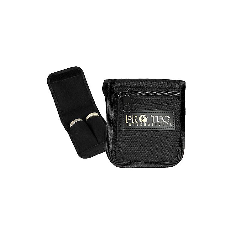 Protec Large Brass 2-Mouthpiece Belt Pouch