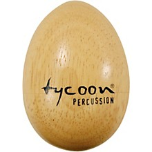 Tycoon Percussion Large Wooden Egg Shakers (Pair)