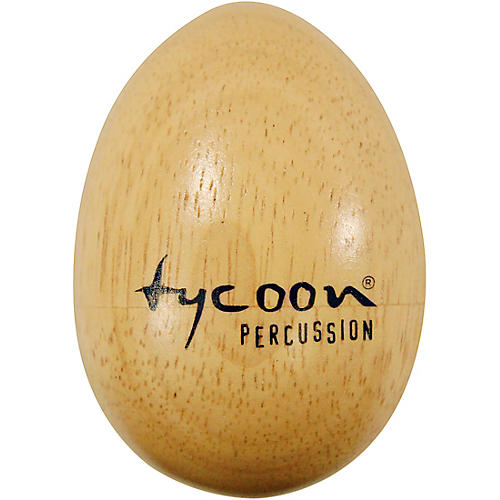 Tycoon Percussion Large Wooden Egg Shakers (Pair)-thumbnail