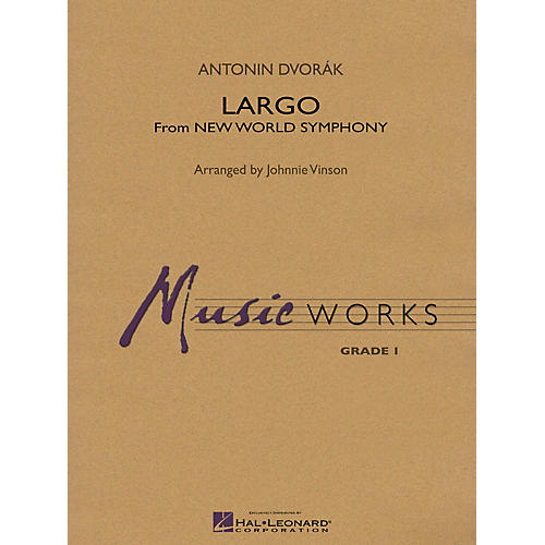 Hal Leonard Largo (From NEW WORLD SYMPHONY) Concert Band Level 1.5 Arranged by Johnnie Vinson-thumbnail