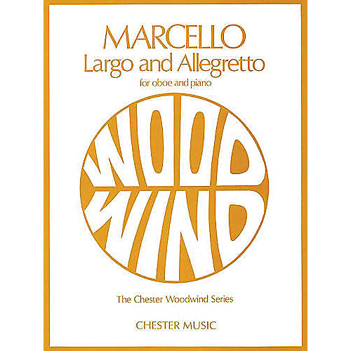 Chester Music Largo and Allegretto (for Oboe and Piano) Music Sales America Series-thumbnail