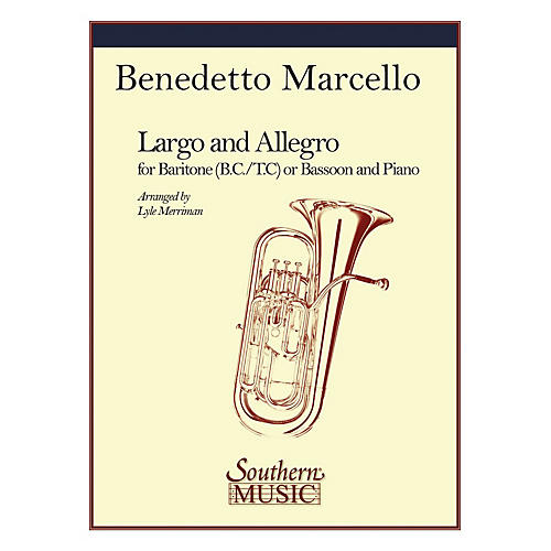 Southern Largo and Allegro (Bassoon) Southern Music Series Arranged by Lyle Merriman-thumbnail