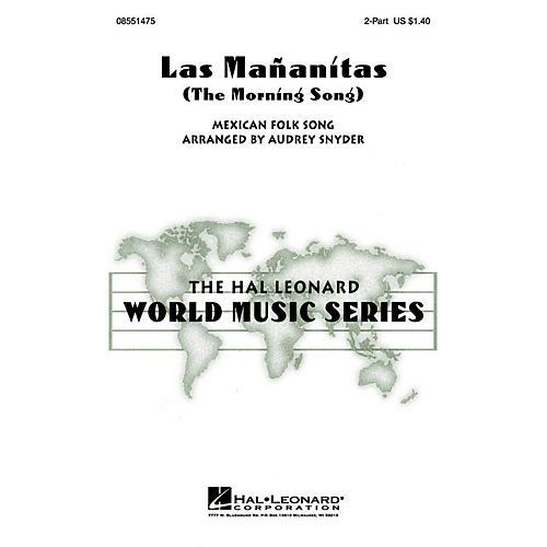 Hal Leonard Las Mañanitas 2-Part arranged by Audrey Snyder-thumbnail