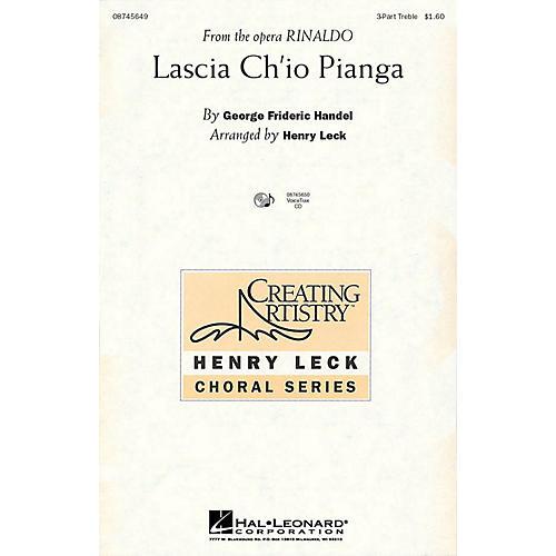 Hal Leonard Lascia Ch'io Pianga (from the opera Rinaldo) 3 Part Treble