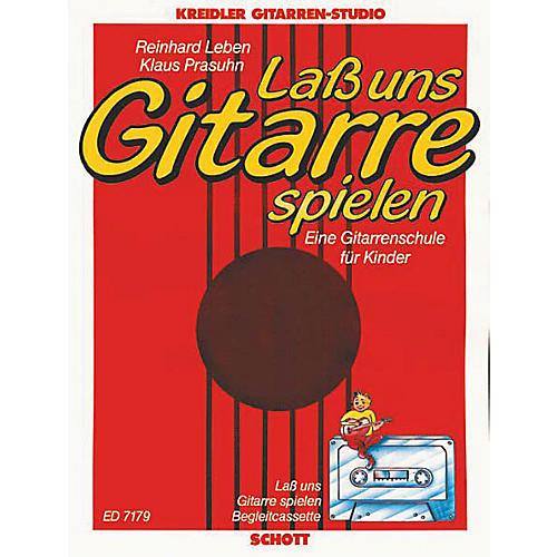 Schott Lass Uns Gitarre Spielen & Cassette Schott Series-thumbnail