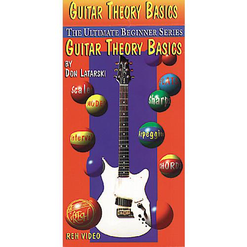 Alfred Latarski Guitar Theory Basics VHS