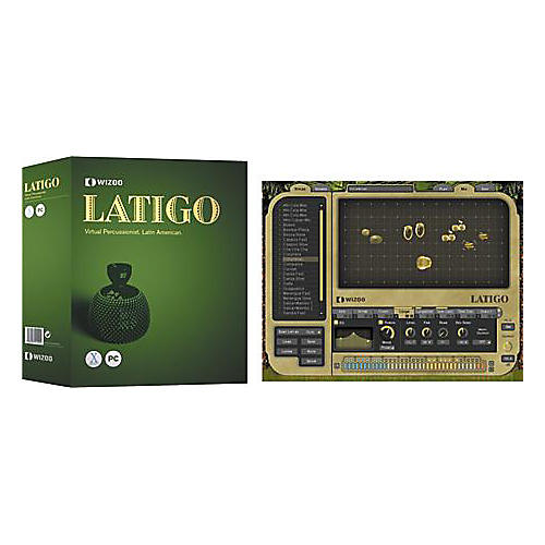 Wizoo Latigo Latin American Virtual Percussion Ensemble