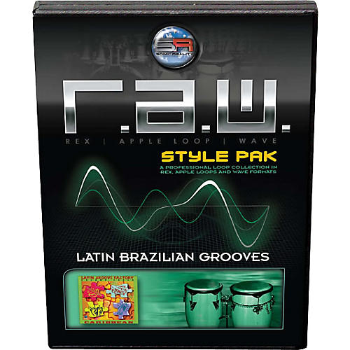 Sonic Reality Latin Brazilian Grooves R.A.W. Style Pak