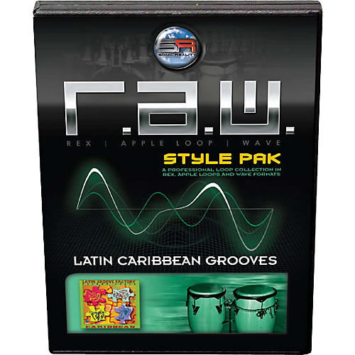 Sonic Reality Latin Caribbean Grooves R.A.W. Style Pak