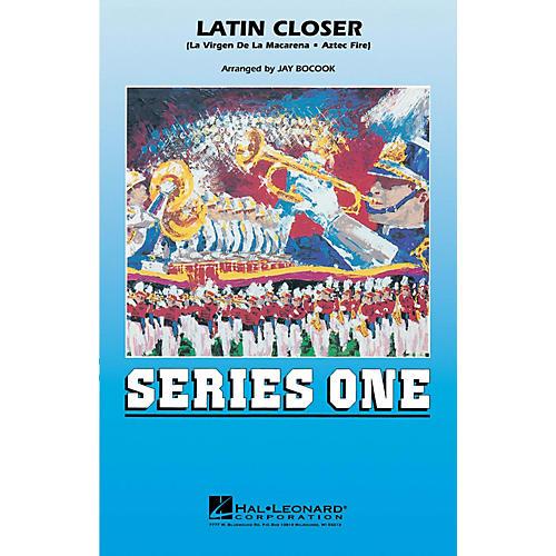 Hal Leonard Latin Closer Marching Band Level 2 Arranged by Jay Bocook