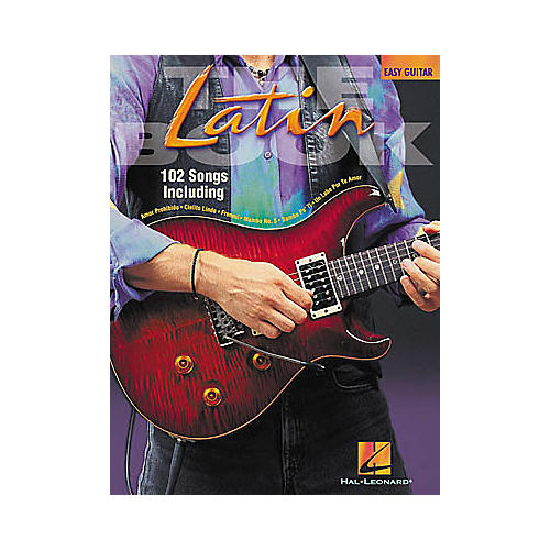 Hal Leonard Latin Easy Guitar Tab Book