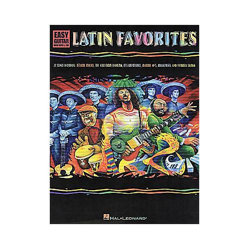 Hal Leonard Latin Favorites Easy Guitar Book