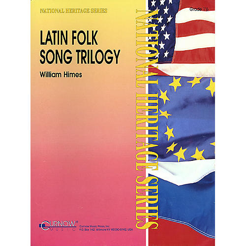 Curnow Music Latin Folk Song Trilogy (Grade 3 - Score and Parts) Concert Band Level 3 Arranged by William Himes-thumbnail