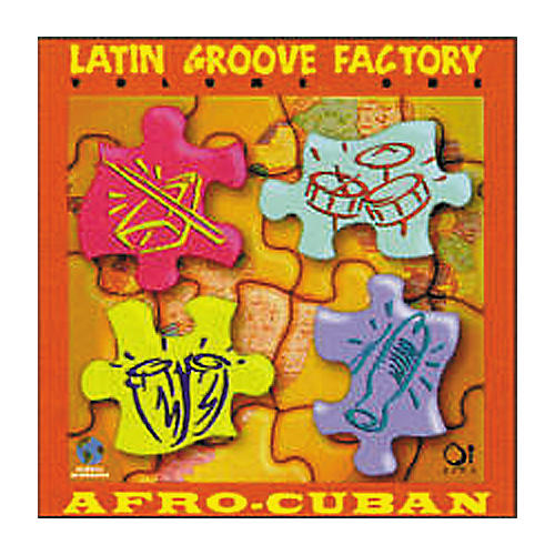 Q Up Arts Latin Groove Factory Volume 1 - REX/Apple Acid Loops CD-ROM