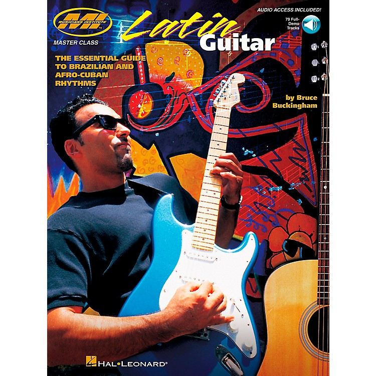Hal Leonard Latin Guitar Book/CD