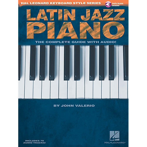 Hal Leonard Latin Jazz Piano Keyboard Instruction Series Softcover with CD Written by John Valerio-thumbnail