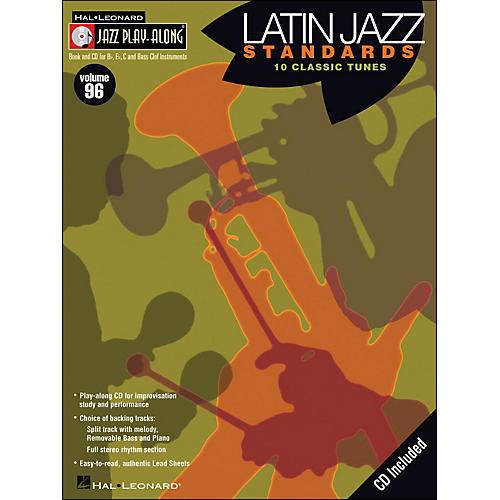 Hal Leonard Latin Jazz Standards - Jazz Play-Along Volume 96 (CD/Pkg)