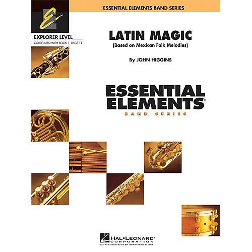 Hal Leonard Latin Magic Concert Band Level 0.5 Composed by John Higgins