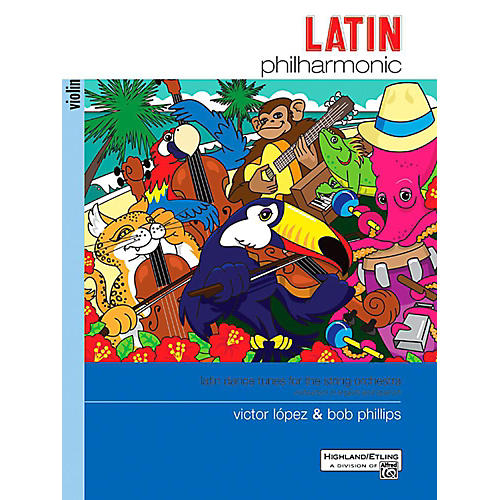 Alfred Latin Philharmonic - Violin Book