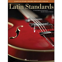 Hal Leonard Latin Standards - Jazz Guitar Chord Melody Solos