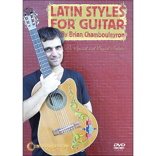 Centerstream Publishing Latin Styles for Guitar (DVD)-thumbnail