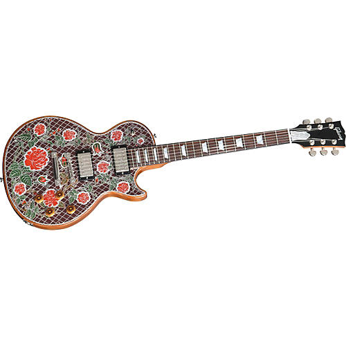 Gibson Custom Lattice Roses Engraved Les Paul Special Electric Guitar