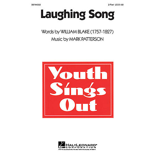 Hal Leonard Laughing Song 2-Part composed by Mark Patterson