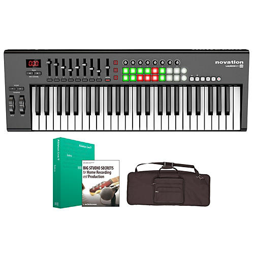 Novation Launchkey 49 Keyboard Controller Package 1