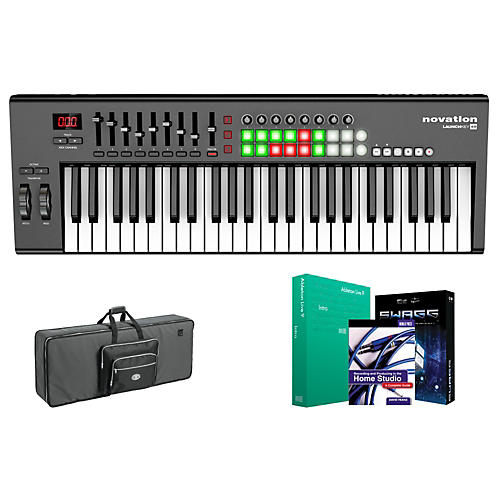 Novation Launchkey 49 Keyboard Controller Package 2