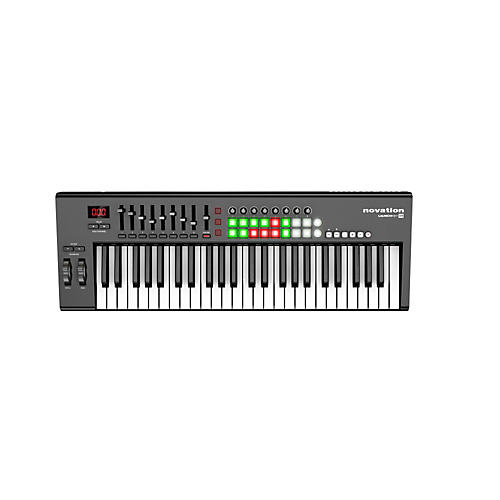 novation launchkey 49 keyboard controller musician 39 s friend. Black Bedroom Furniture Sets. Home Design Ideas