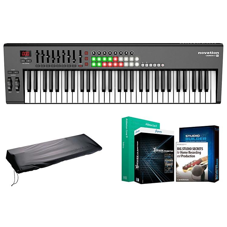 NovationLaunchkey 61 Keyboard Controller Package 1