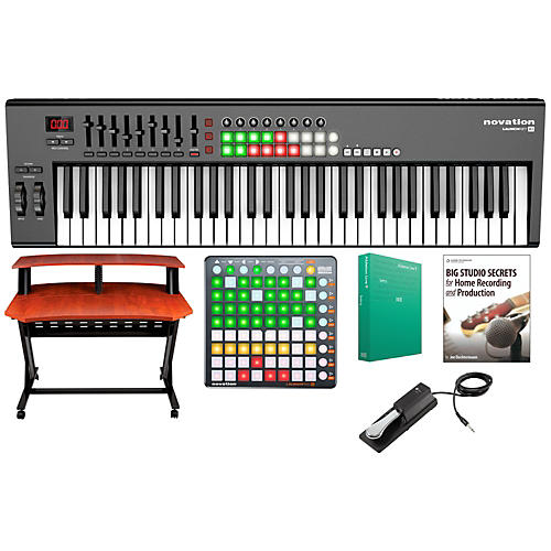 Novation Launchkey 61 Keyboard Controller Package 2