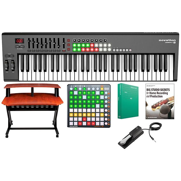 NovationLaunchkey 61 Keyboard Controller Package 2