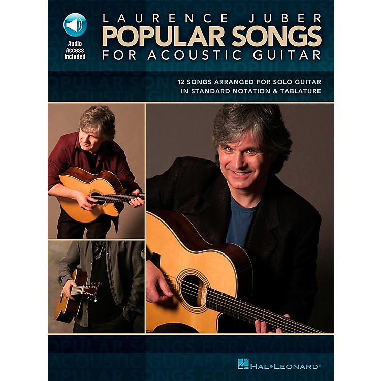 Hal Leonard Laurence Juber Popular Songs for Acoustic Guitar Book with CD