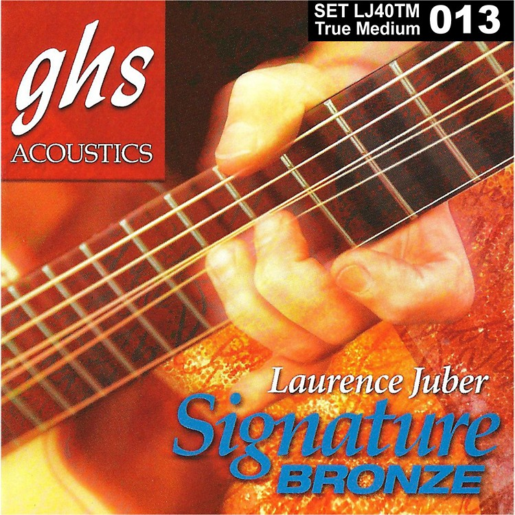 GHSLaurence Juber Signature Bronze True Medium Acoustic Guitar Strings