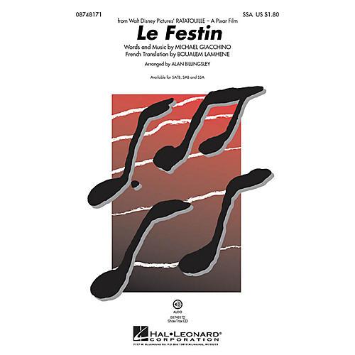 Hal Leonard Le Festin (from Ratatouille) SSA arranged by Alan Billingsley-thumbnail