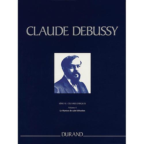Editions Durand Le Martyre de saint Sébastien Critical Ed Full Sc, Hardbound by Debussy Edited by Boulez
