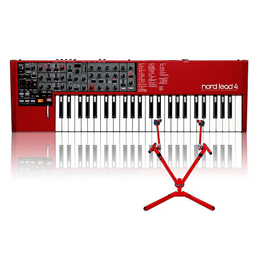 Nord Lead 4 with Matching 2-Tier Keyboard Stand-thumbnail