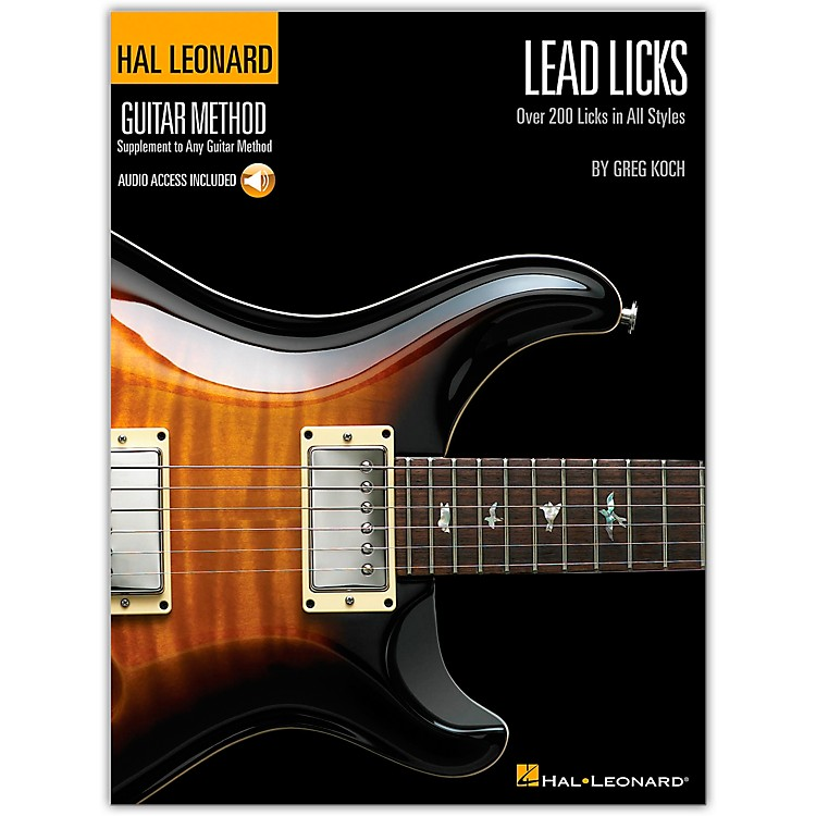 Hal Leonard Lead Licks (Book/CD)