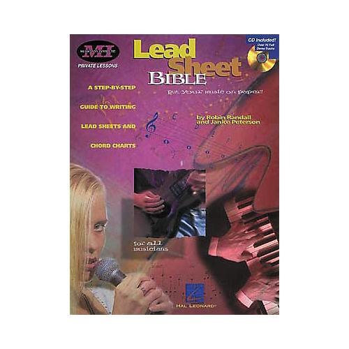 Hal Leonard Lead Sheet Bible Book/CD-thumbnail