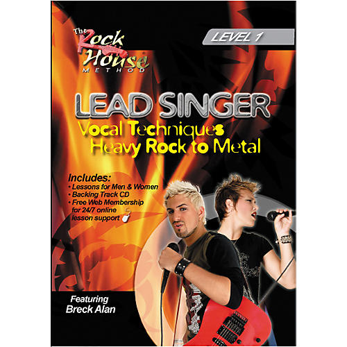 Rock House Lead Singer Vocal Techniques From Heavy Rock to Metal DVD Level 1