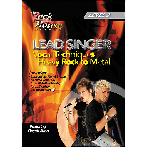 Hal Leonard Lead Singer Vocal Techniques From Heavy Rock to Metal DVD Level 2-thumbnail