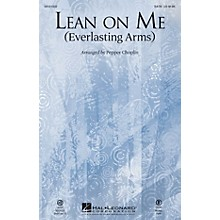 Hal Leonard Lean on Me (Everlasting Arms) SATB by Bill Withers arranged by Pepper Choplin