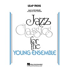 Hal Leonard Leap Frog Jazz Band Level 3 by Les Brown Arranged by Paul Lavender